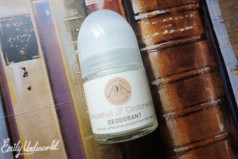 Amphora Aromatics Grapefruit & Cedarwood natural deodorant