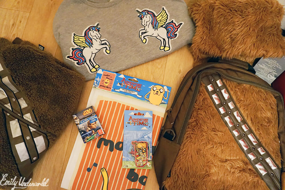 Epic Nerd Haul featuring Star Wars, Disney & Adventure Time!