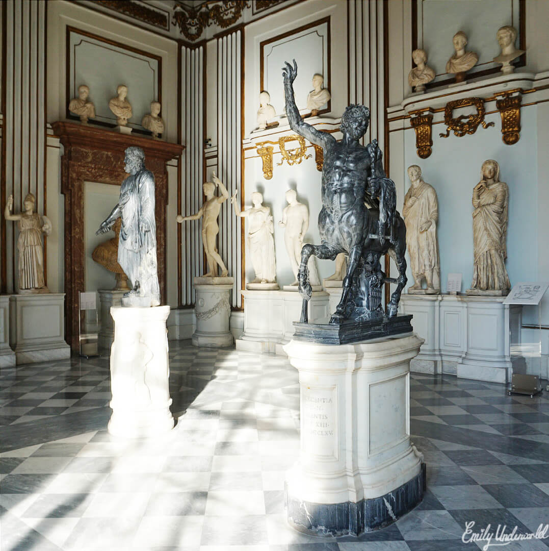 Sculpture in the Capitoline Museum