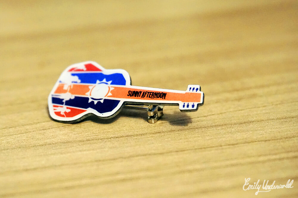 The Kinks Musical Sunny Afternoon Pin