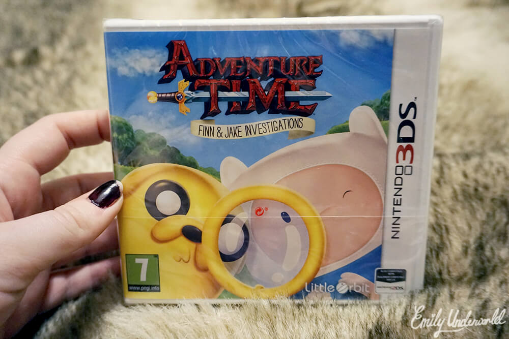Adventure Time Finn & Jake Investigations 3DS
