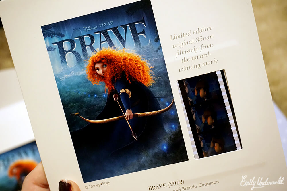 Disney Pixar Brave Film Strip