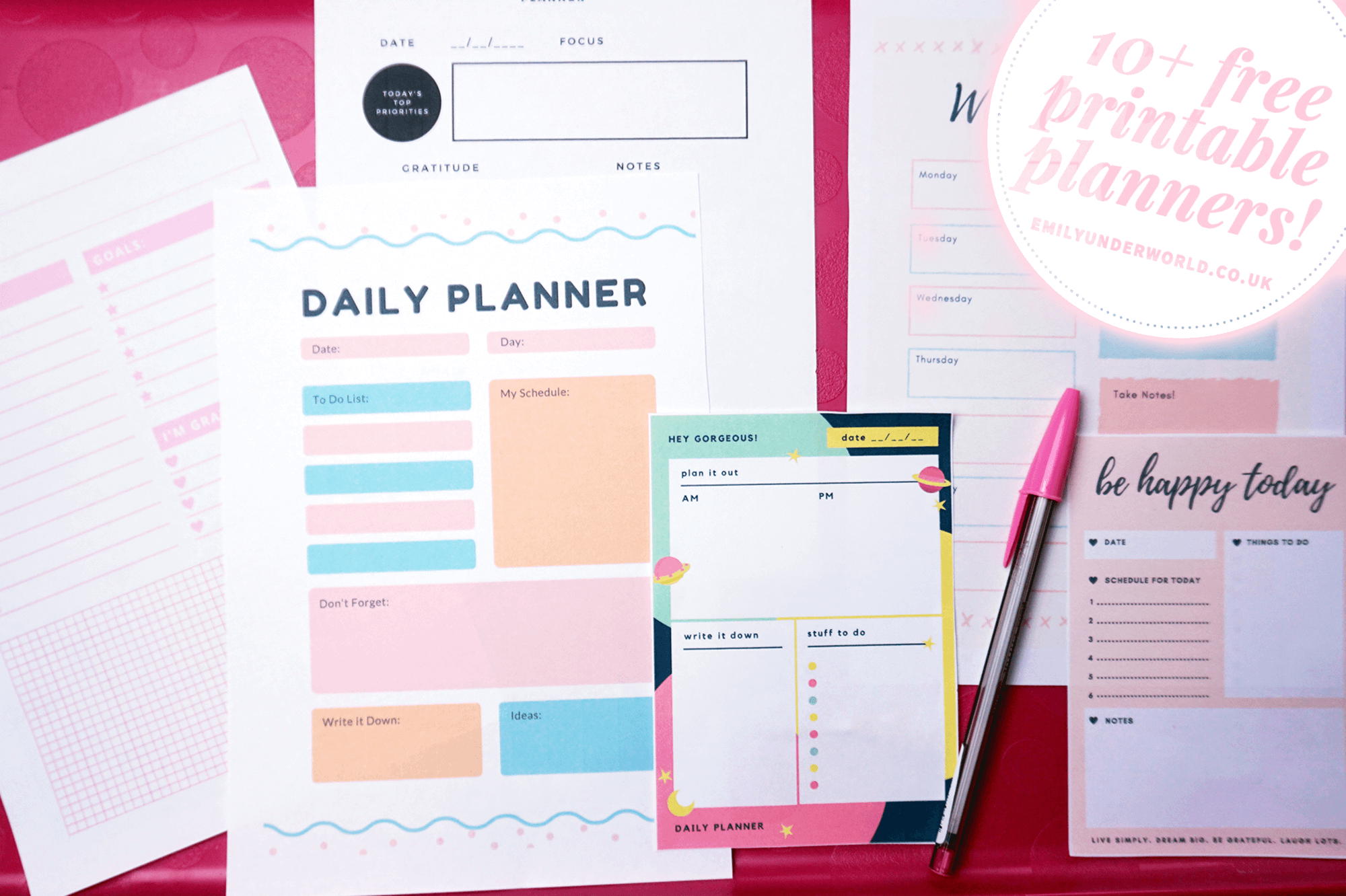 free-printable-planners