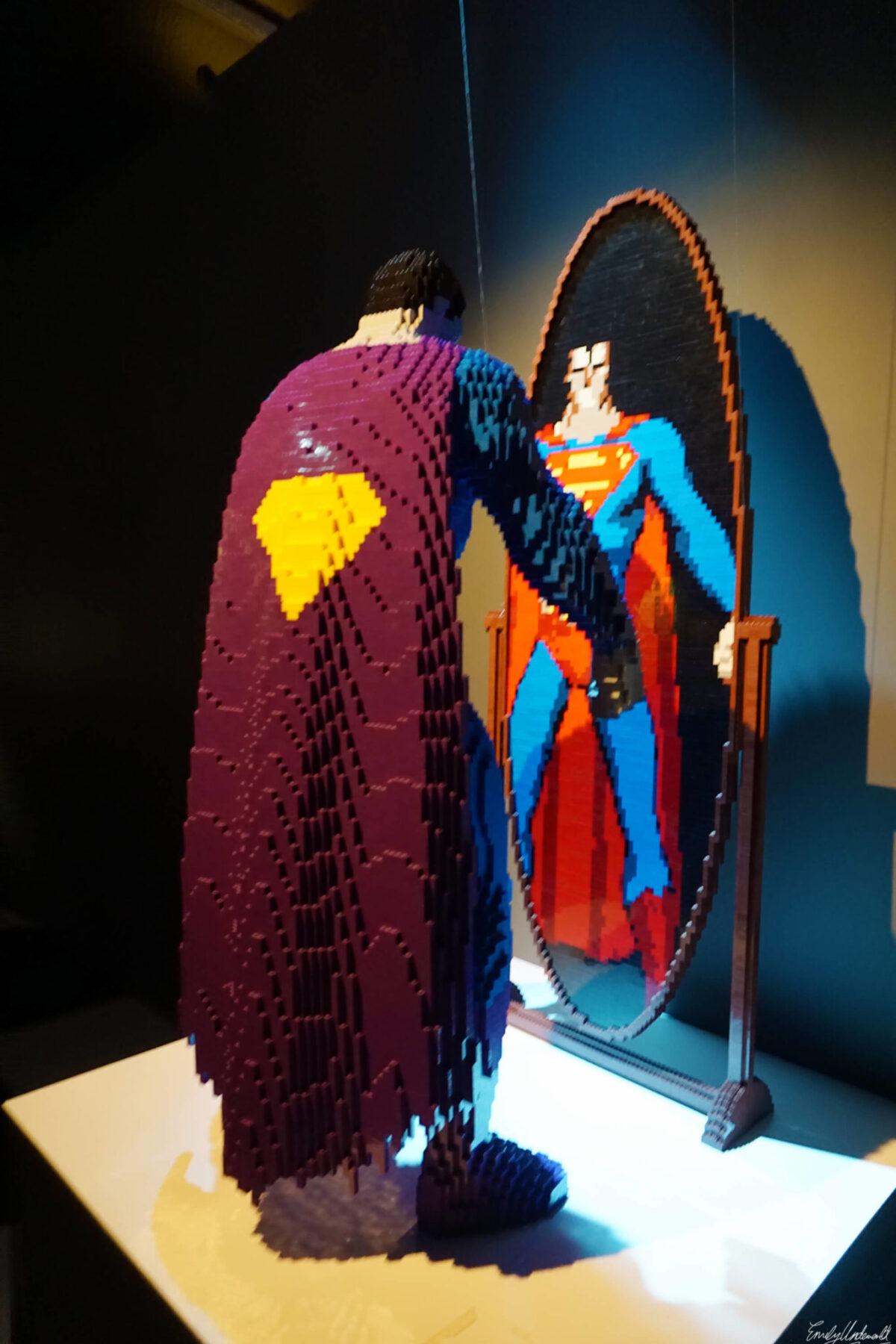 superman mirror