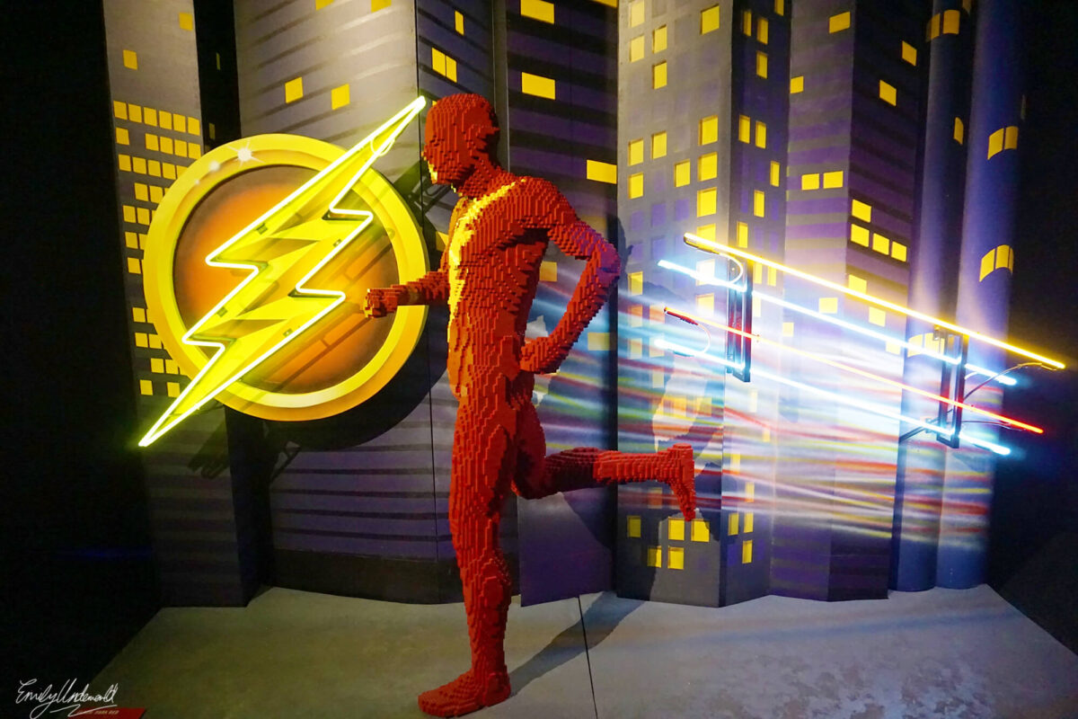 the flash neon
