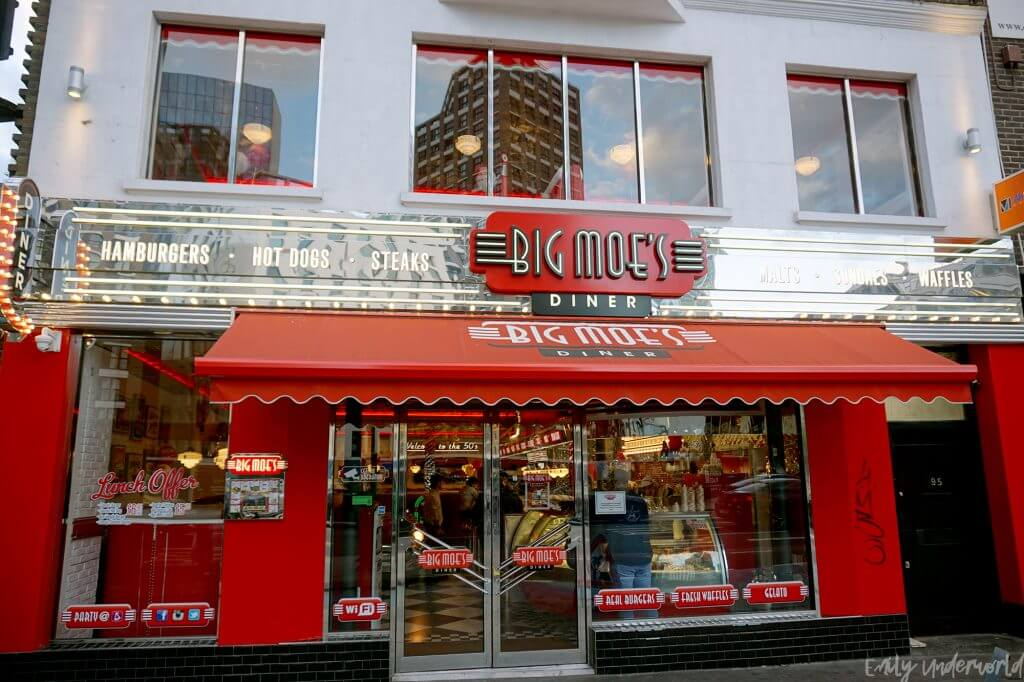 Big Moe's Diner, Whitechapel