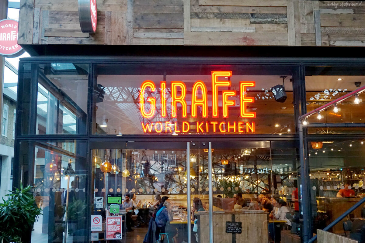 Giraffe World Kitchen Spitalfields