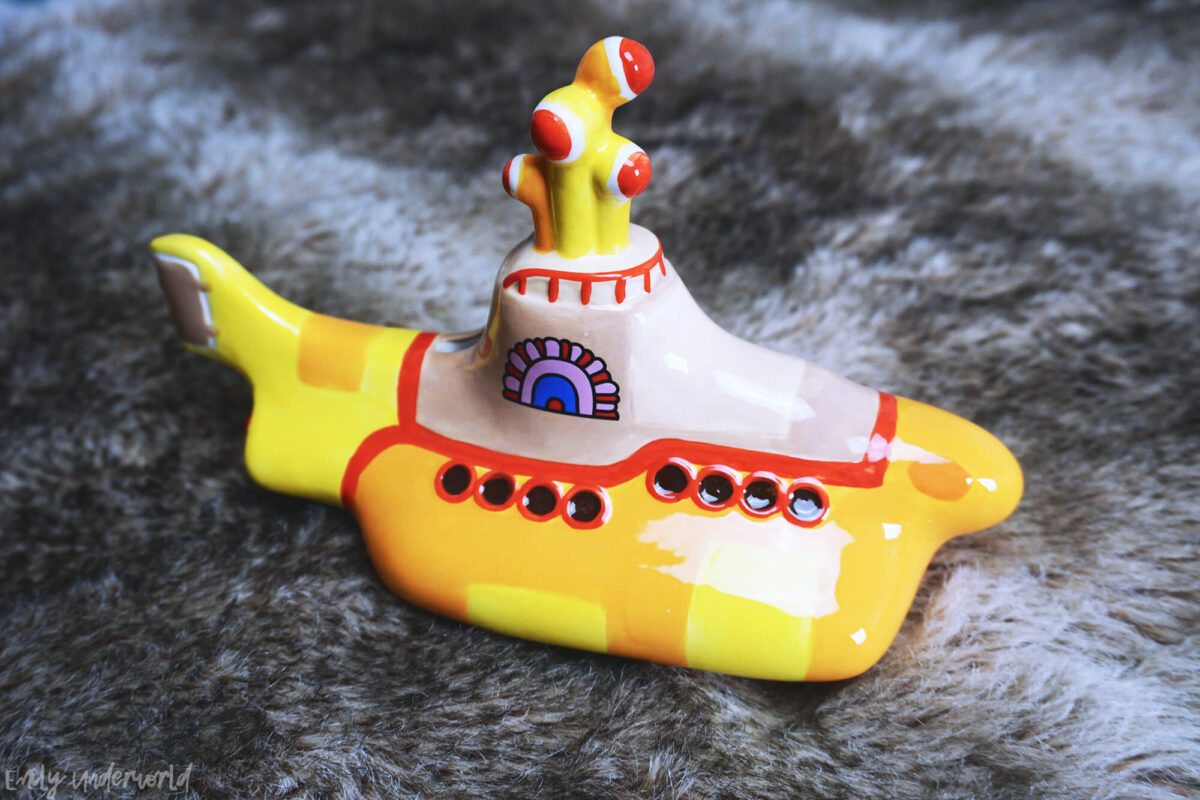London Beatles Store Yellow Submarine Money Box