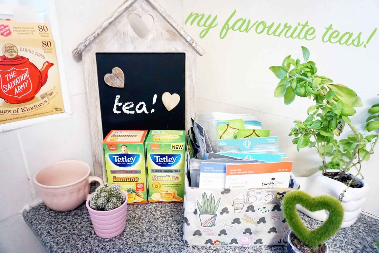 My 7 Favourite Teas!