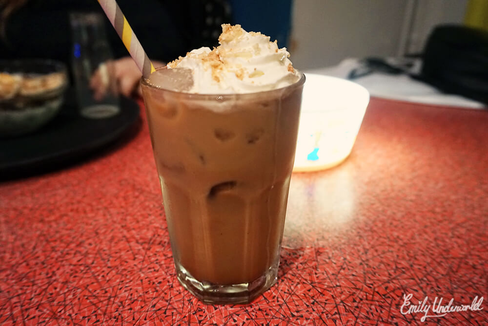 The Cereal Killer Cafe Iced Coffee