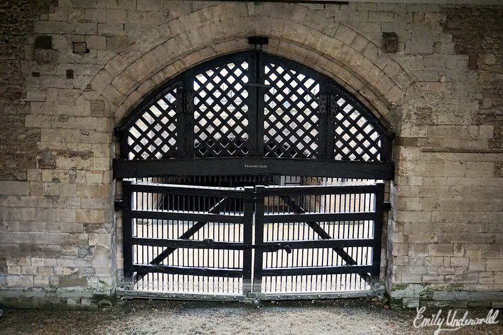 The Tower of London Traitor's Gate