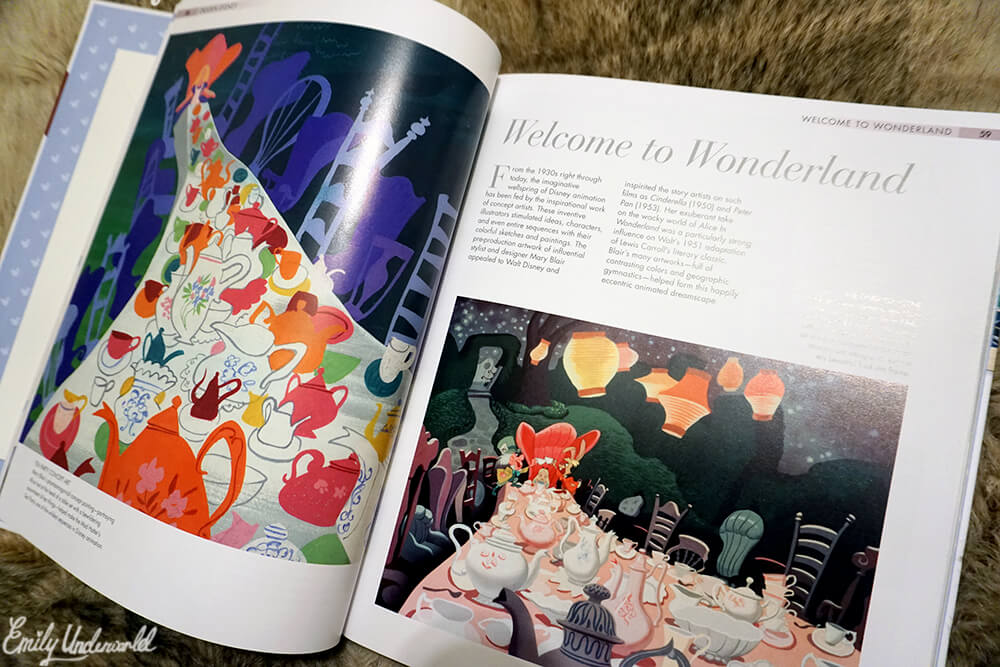 The Disney Book Alice in Wonderland page
