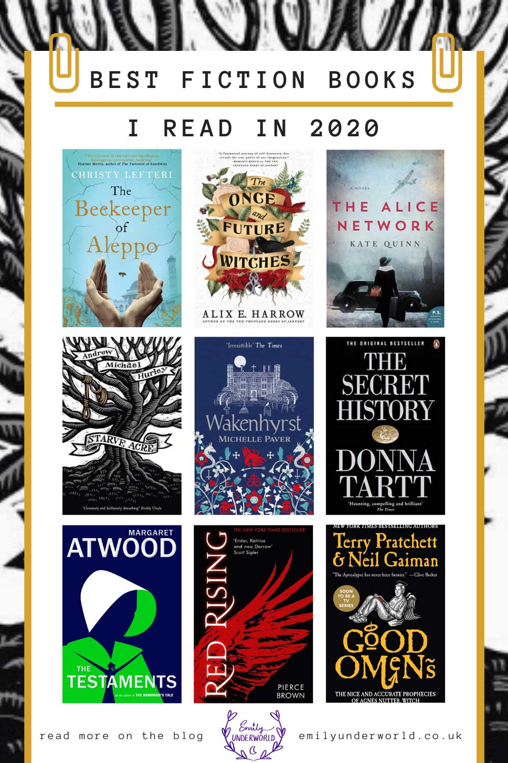 Top 10 Fiction Books I Read in 2020